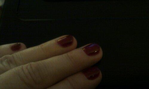 Pølsefingre med shellak